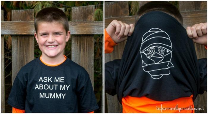 mummy shirt
