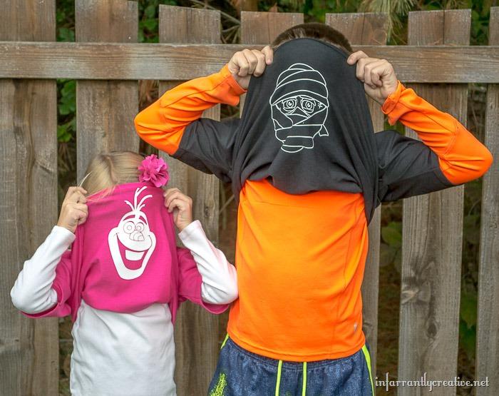 olaf-and-mummy-shirts