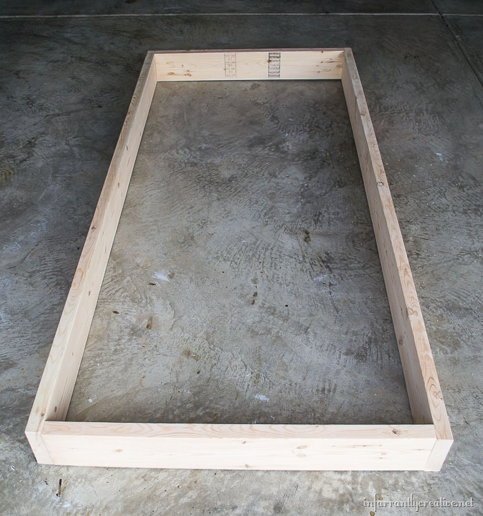 Awesome DIY trundle bed Next cut xs to ud Add two pocketholes to each end of those Then attach those to the frame with the ud side facing up