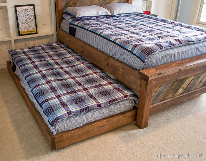 farmhouse trundle bed