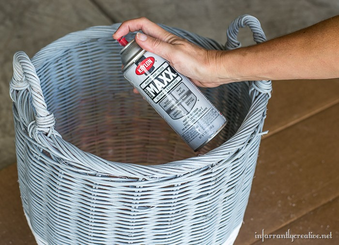 spray-paint-basket