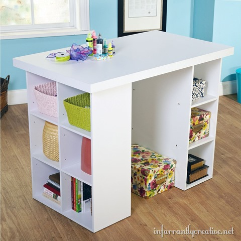 Metro Shop Counter Height Craft Table