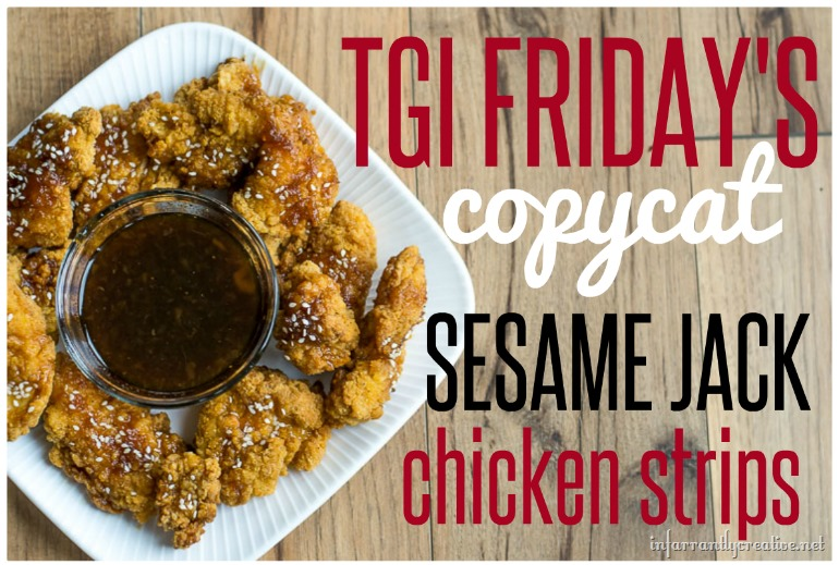 TGI Fridays Copycat Recipe Sesame Jack Chicken Strips