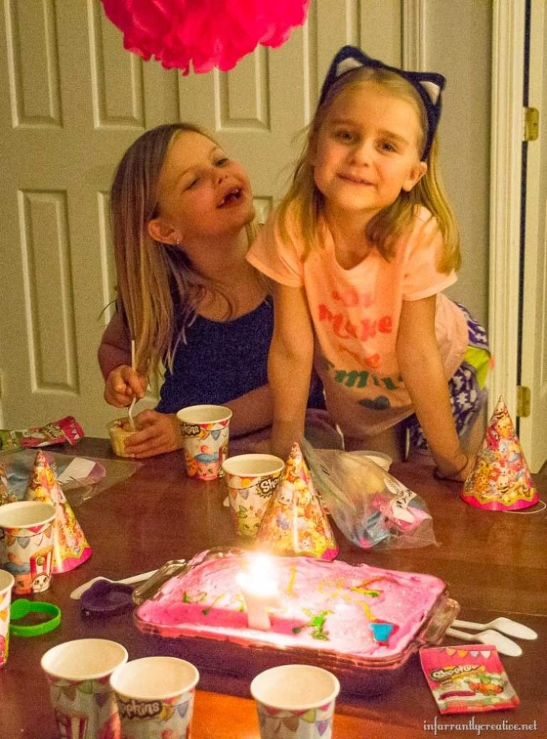 7 year old birthday sleepover