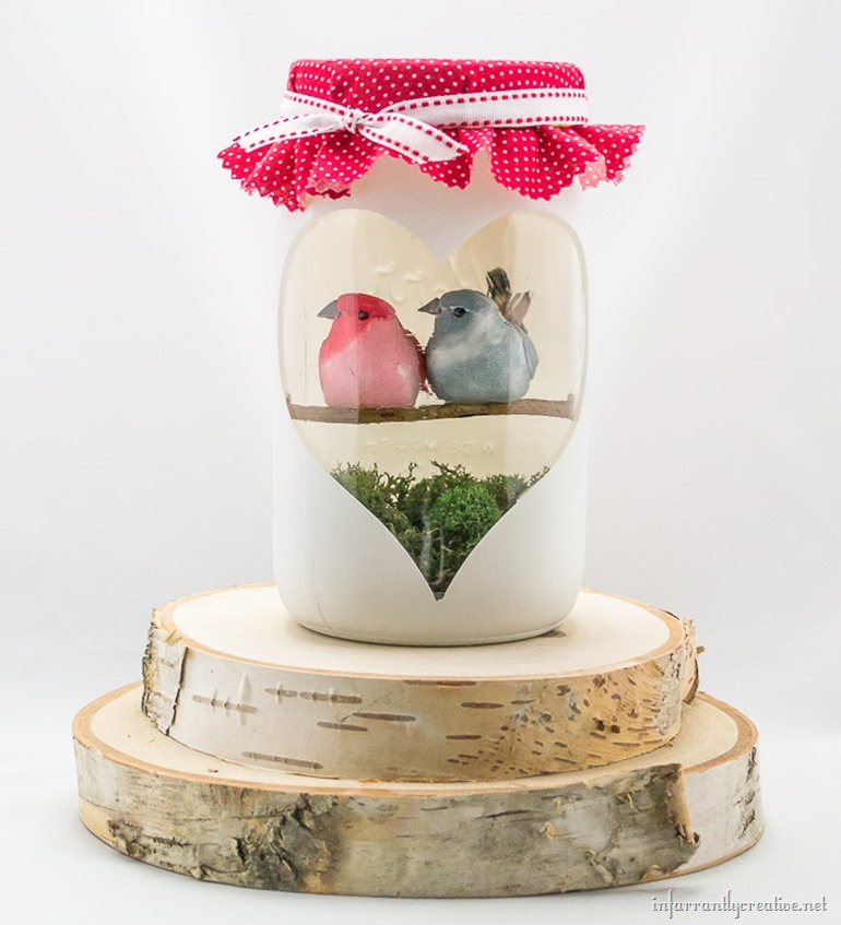 love birds craft