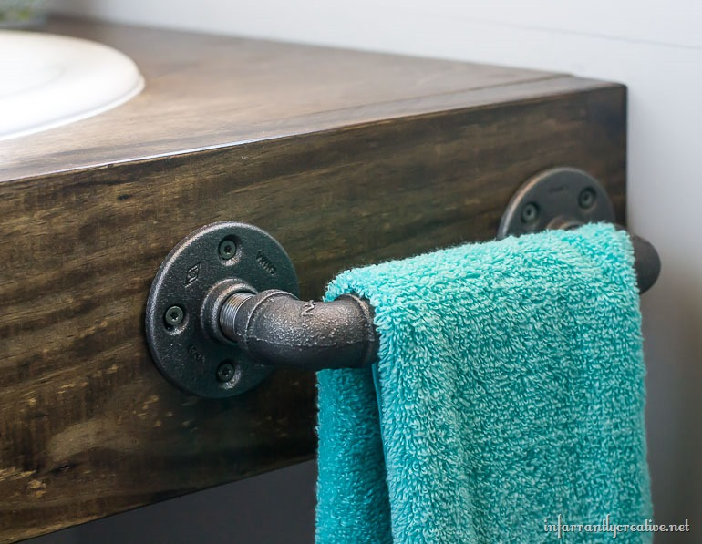 plumbing parts hand towel bar