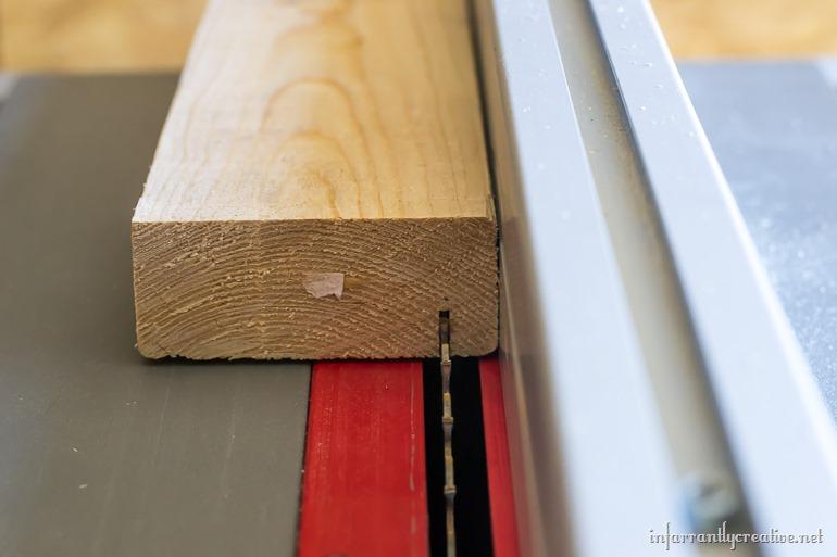 rabbet in wood