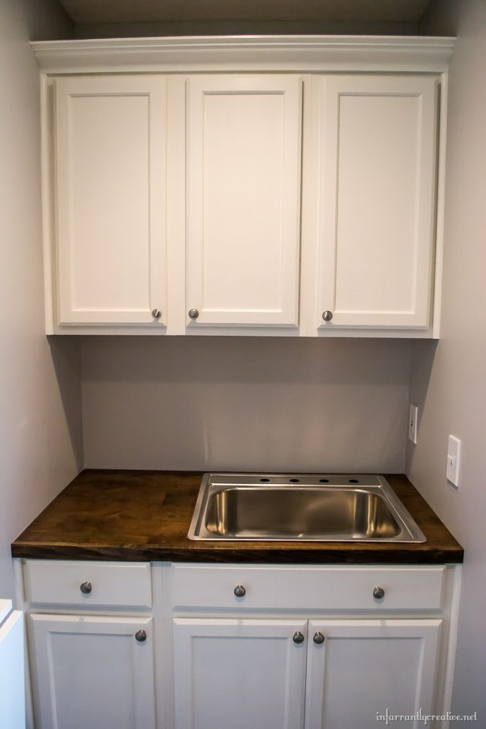 Epic small space laundry room