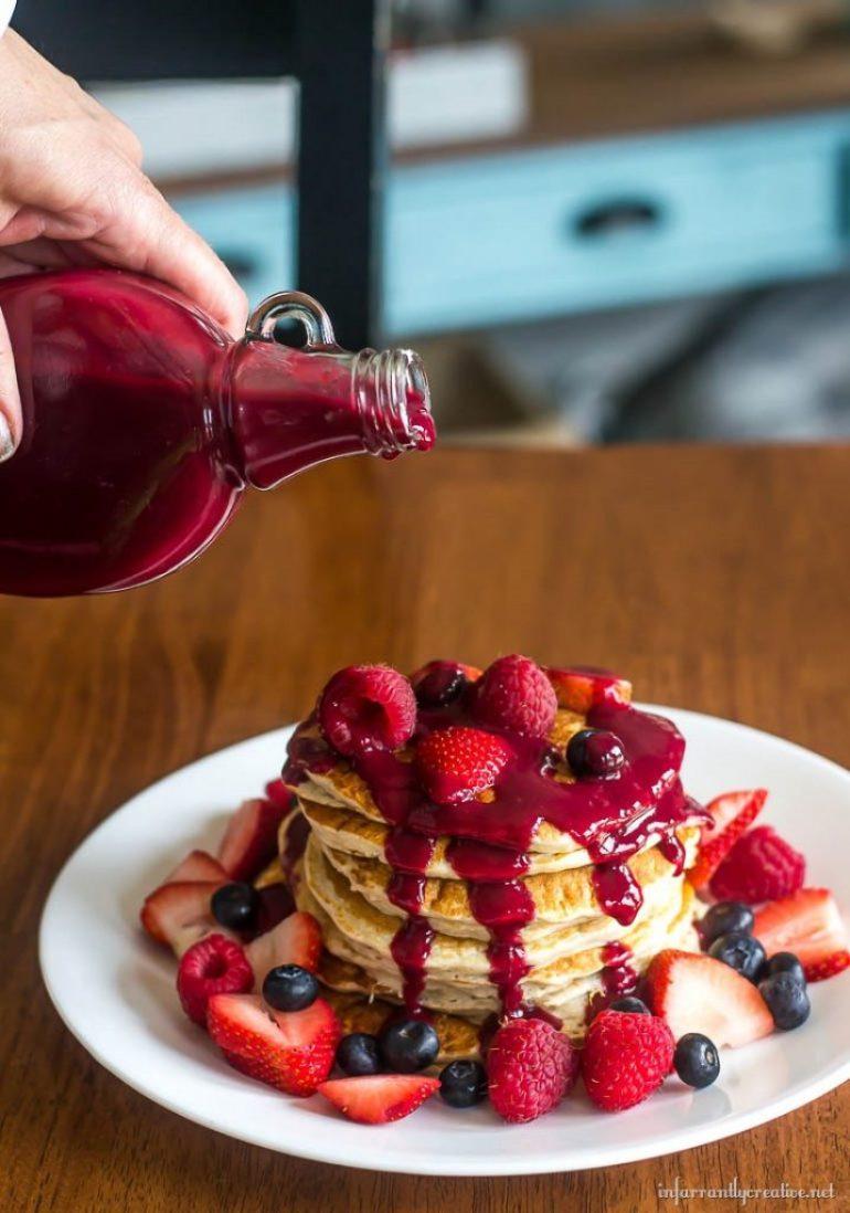 sugar free berry syrup
