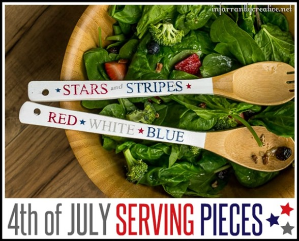 Fourth of July Serving Pieces