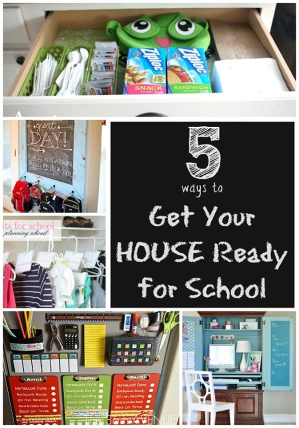 Get your house ready for back-to-school with these creative DIY ideas!