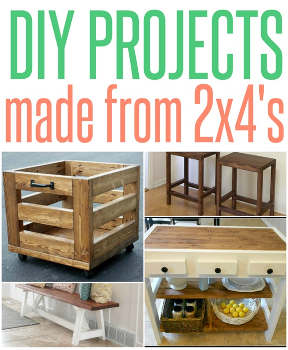 Wood Projects Made Entirely From 2×4's