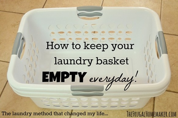How to Keep Your Laundry Basket Empty Everyday