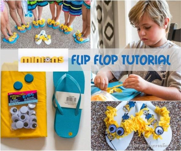 Minion Flip Flops