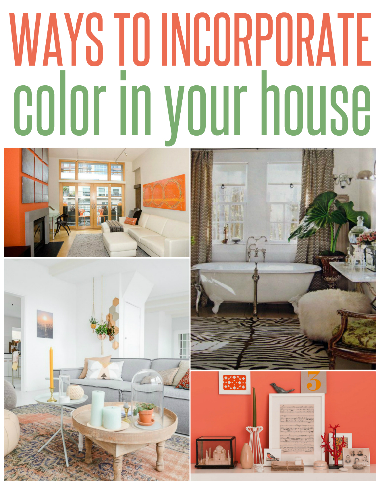 5 Ways To Incorporate Color Into Your House