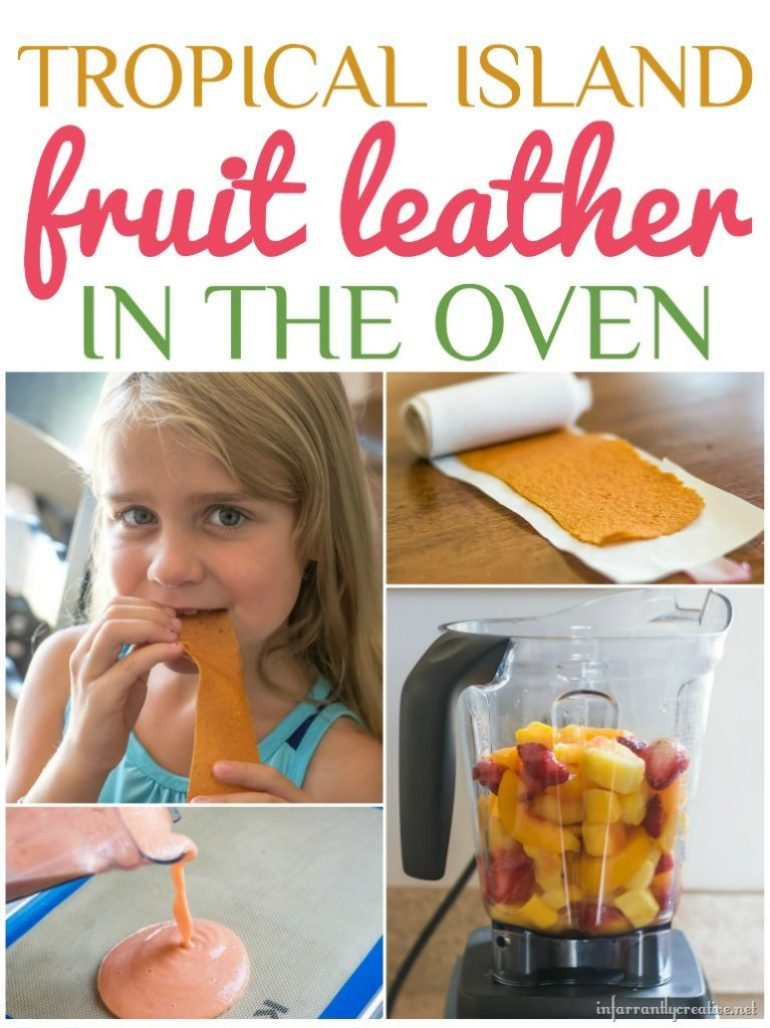 tropical island fruit leather