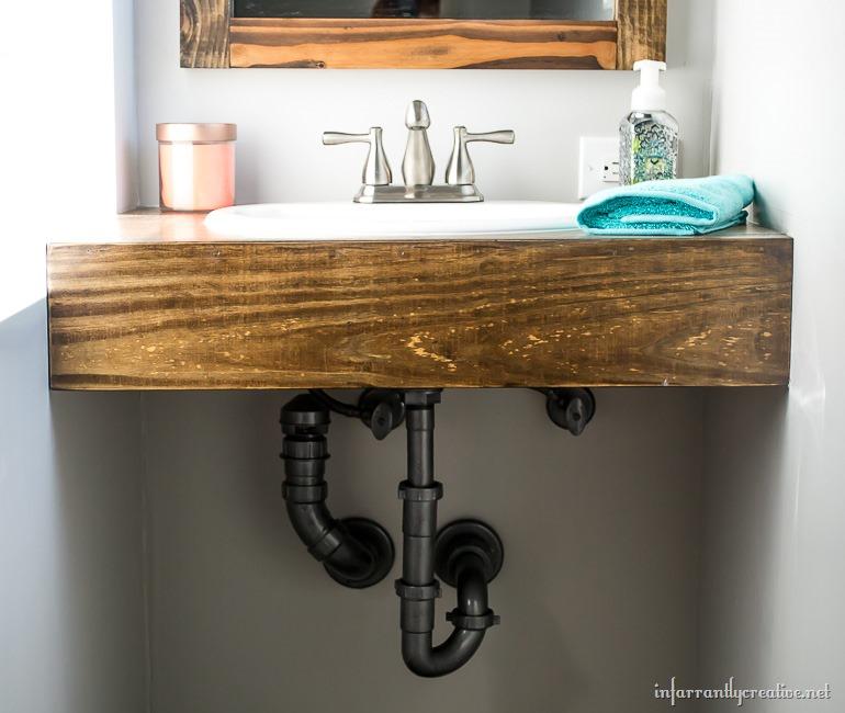 DIY-floating-vanity
