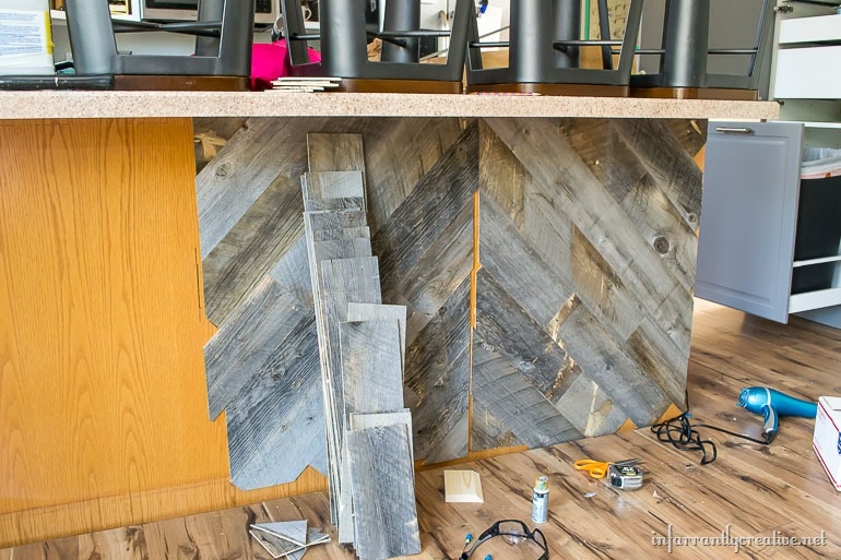 herringbone-kitchen-island