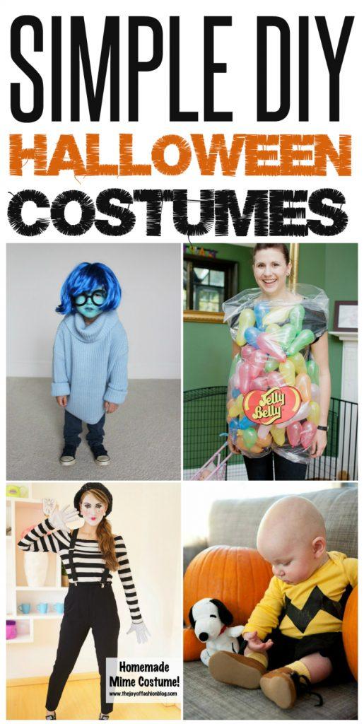 simple-diy-halloween-costumes  sc 1 st  Infarrantly Creative & 5 Ways to Create Your Own DIY Costume - Infarrantly Creative