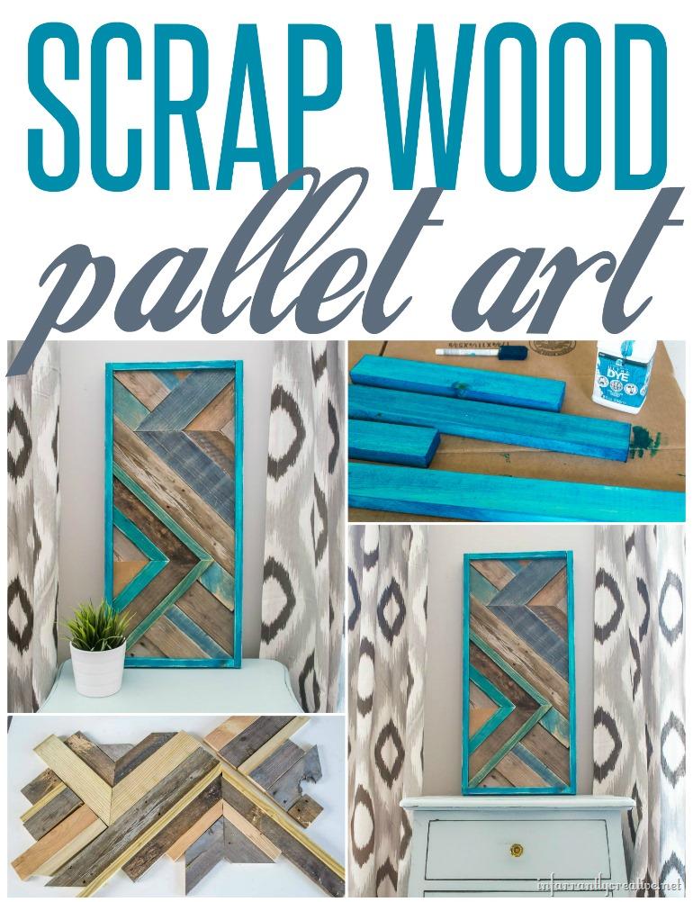 Scrap Wood Pallet Quilt