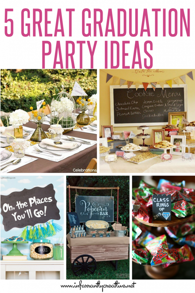 5 Great Graduation Party Ideas