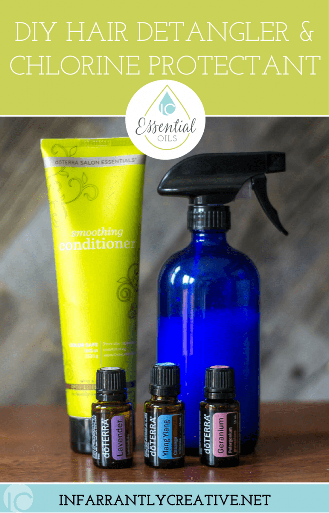 DIY Hair Detangler and Chlorine Protectant