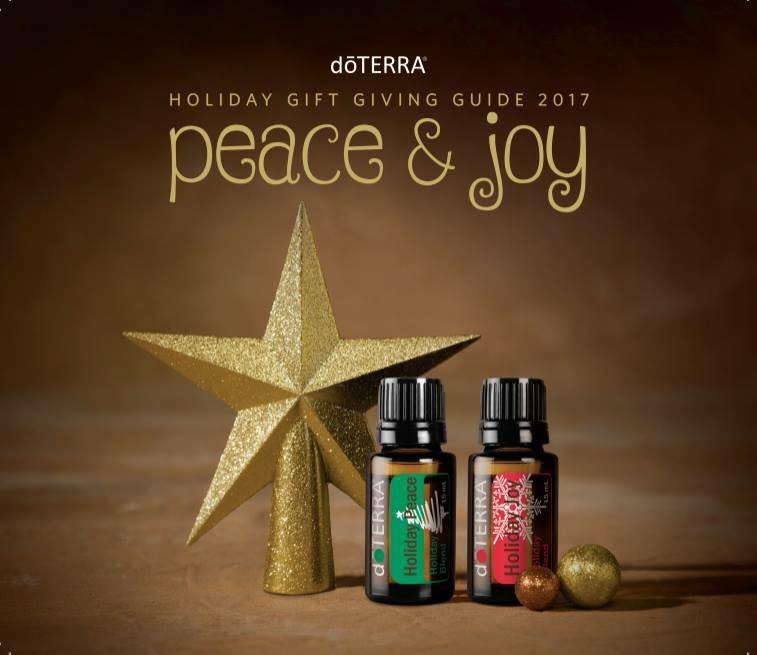 Holiday Peace & Joy doterra essential oils 2017 gift guide