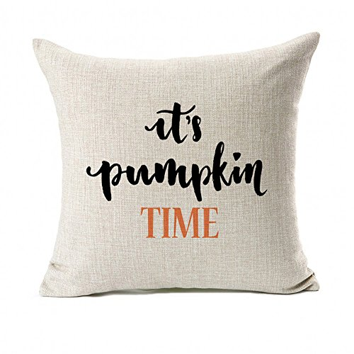 its pumpkin time pillow cover
