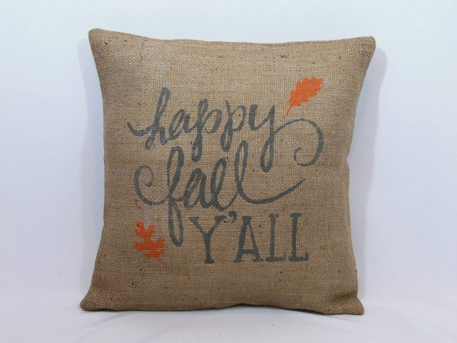 Happy fall Ya'll pillow cover
