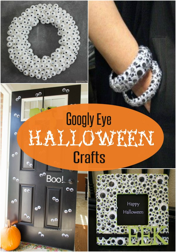 Googly Eye Halloween Crafts