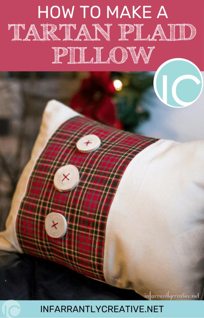 Tartan Plaid Pillow