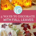 5 diy projects for fall with leaves