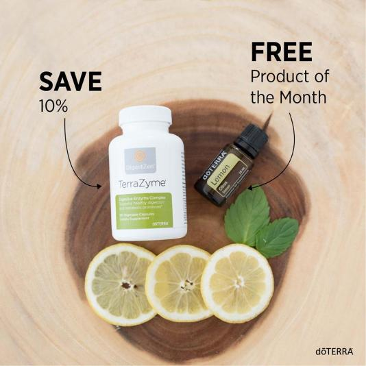 terrazyme lemon essential oil