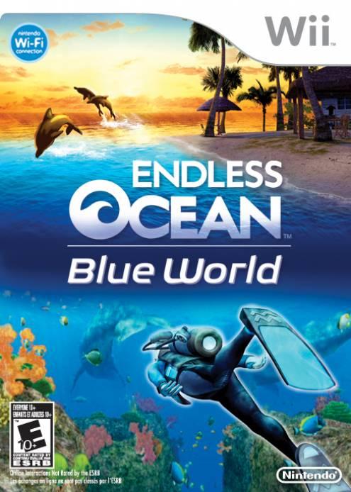 Endless Ocean Blue World
