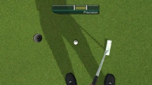 Tiger Woods 11 PGA Golf Wii screenshot True View first-person mode