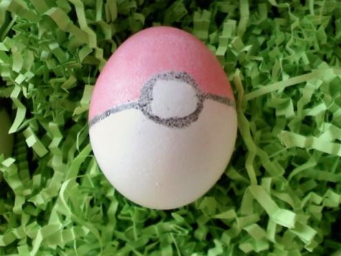 Pokeball Easter Egg