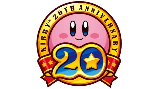 Kirby 20th Anniversary Logo