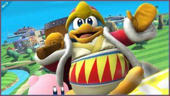 King Dedede Smash Bros. Wii U-3DS
