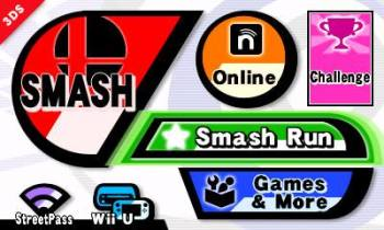 smash bros screen