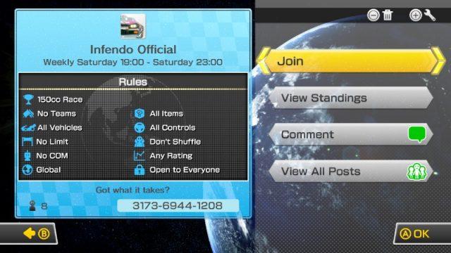 134-Mario Kart 8 Tourney Infendo Official