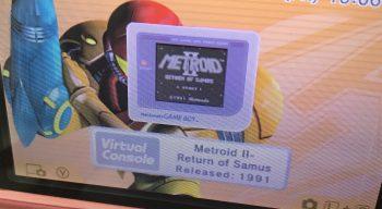 Metroid II Vitrual Consol icon
