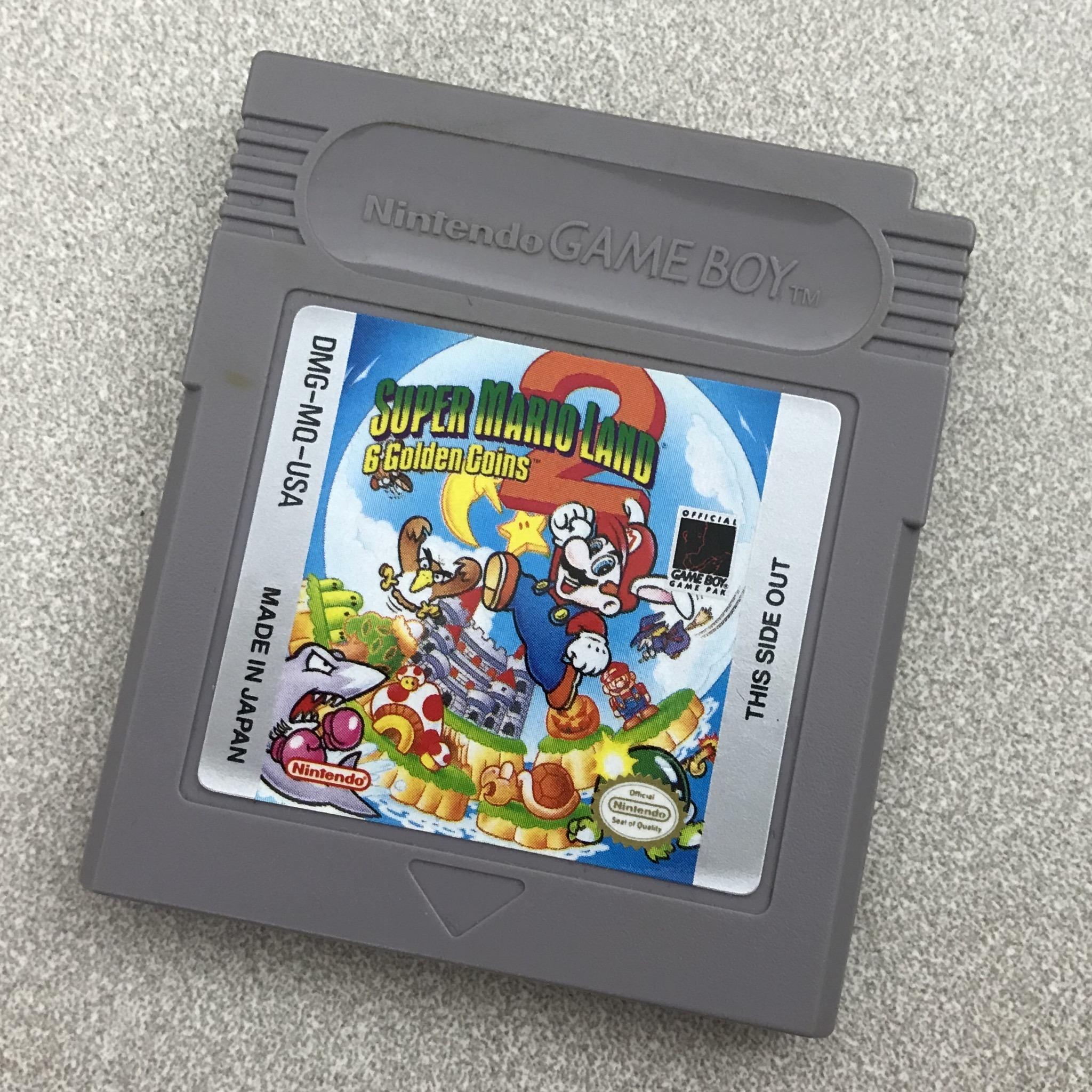 Retro Review – Super Mario Land 2: 6 Golden Coins (Game Boy)