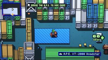 Retro City Rampage DX Stolen Vehicle