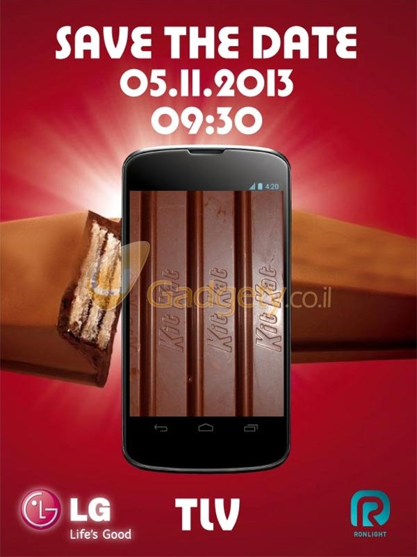 Google Nexus 5 Android 4.4 KitKat