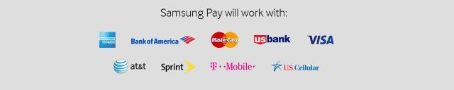Samsung Pay will work with