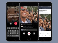 Facebook Live Video for iPhone
