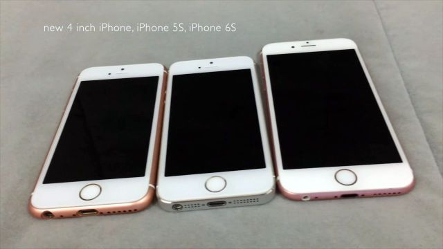 Alleged iPhone SE Rumors Roundup