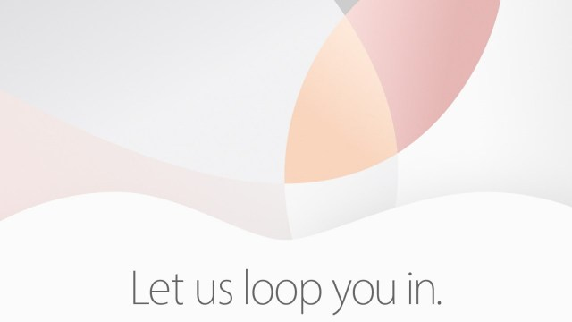Apple March 21 Event - Let us loop you in