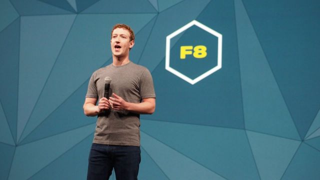 Mark Zuckerberg Facebook F8 F8 Developer Conference