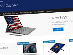 Microsoft Store Presidents Day Sale
